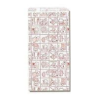 Heiko纸袋 图案小袋 R-30 My house 200个装 parent マイホーム