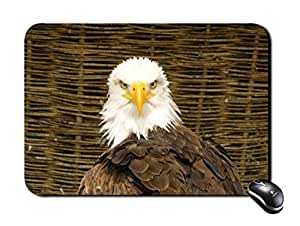 Rectangular Mousepad White Eagle Mouse Pad