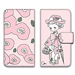 caho 保护套印花翻盖和服与花手机保护壳翻盖式适用于所有机型  着物と花B 1_ iPhone6 (4.7inch)