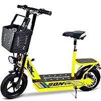 SDN速丹尼电动车 时尚迷你电动自行车单车 成人电动滑板车代步小型电瓶车