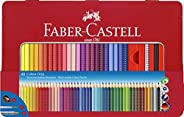 Faber-Castell 112448 彩笔 Colour Grip 48枝金属盒装