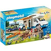 Playmobil 摩比世界 9318 露营探险,适合4岁以上