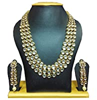 Shining Diva Anushka Sharma Bollywood Inspired Kundan Necklace Set For Women