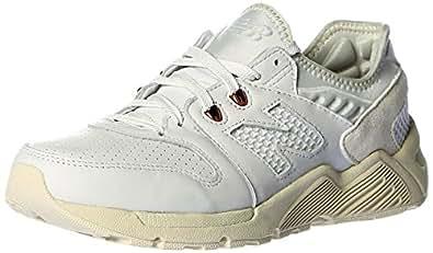 New Balance 男 休闲跑步鞋009系列  ML009SCC-D-8 白色 41.5 (US 8)
