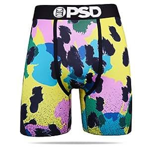 PSD 男式 80 年代豹纹运动平角内裤 XXL 码