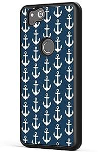 谷歌 Pixel 2 XL 手机壳花饰,Gifun【防滑】和【防摔】软黑色 TPU 保护套适用于 Google Pixel 2 XL 2017 发布 - 抽象经典花艺术保护壳 Pixel 2 XL CASE-22