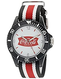 RumbaTime Unisex 13686 Coke - Perry Analog Display Analog Quartz Black Watch