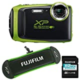 Fujifilm Finepix XP130 Lime with 16GB SD Card & Float Strap
