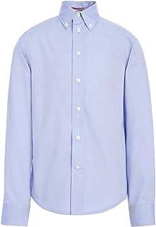 Tommy Hilfiger 汤米·希尔费格长袖细点男孩牛津衬衫