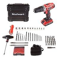 Stalwart 75-PT1002 3.6V 锂离子双位无绳螺丝刀套装 20V Speed Hammer 75-PT1005