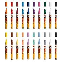 莫洛托夫 mo200152有机标记笔 one4all 127hs, 笔盒 Main - KIT 1, 2毫米, 20白板笔
