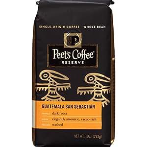 Peet's Coffee & Tea Whole Bean Guatemala San Sebastian 10 Ounce