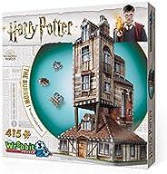 WREBBIT 3D 哈利·波特 The Burrow Weasley 家庭住宅3D拼图,415块
