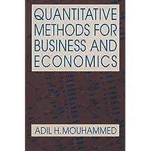 Quantitative Methods for Business and Economics (English Edition)