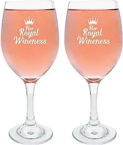 葡萄酒礼品皇家酒杯 趣味礼物 酒杯 白色