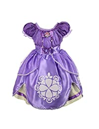 Dressy Daisy 女童索菲亚公主装扮服角色扮演花式派对礼服