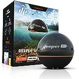 得朋Deeper 探鱼器系列 水下探鱼器 无线声呐高清手机探鱼器 钓鱼捕鱼工具 黑色 pro+