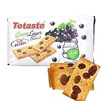 Totaste土斯 夹层饼干葡萄味 360g