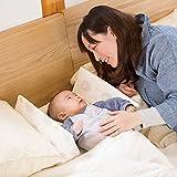 Farska 婴儿床中床AID/多功能可折叠便携式 绵羊(亚马逊自营商品, 由供应商配送)