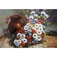 花瓶和花朵 1000 块装拼图 [包含袋]