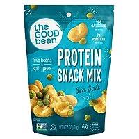 The Good Bean Crispy Favas Plus Peas, Sea Salt, Gluten-Free, 6 Count