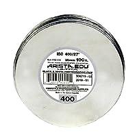 Arista EDU Ultra 400 ISO 黑白膜,35 毫米 x 30 英尺。190410 1 卷 35mm x 100 ft. 白色