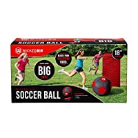 Wicked Big Sports 足球 - 超大号足球户外运动尾板后院海滩游戏乐趣