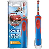 Oral-B博朗欧乐B  Stages Power儿童电动牙刷 迪斯尼汽车和飞机造型