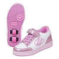 HEELYS(HEELYS) 低帮鞋 脉冲 4.0 HES10159-190 白色/粉色闪光19cm