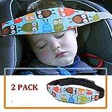 2件装幼儿汽车*座椅领 relief 和头枕易安装在* CONVERTIBLE 座椅提供保护和*儿童 蓝色
