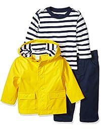 LITTLE ME 婴儿男孩3件套外套和裤子套装