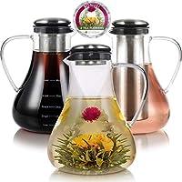 茶壶和茶具 透明 Hot + Cold Brew Tea Maker 1.5 L PIT-GLA-1500