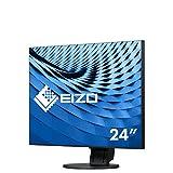 Eizo 艺卓 FlexScan LED 显示器 (61.2 厘米/24.1 英寸, 350 ANSI 流明) 黑色 61 cm (24,1 Zoll)