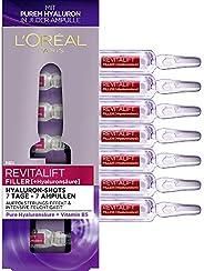 L'Oréal Paris 巴黎欧莱雅 复颜导入系列(Revitalift Filler) 玻尿酸浓缩水光针精华液 冻龄补水保湿精华,1周装,7x 1