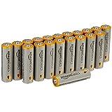 AmazonBasics AA 性能碱性电池(20 节装)