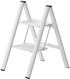 Hasegawa Ladders SJ2.0-2WH 细长牛座,2 步,白色