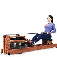 悍德森划船机水阻家用划船器红木款水上划艇器室内健身器