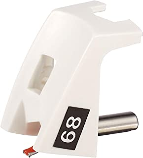 JICO 唱针 Straton D6800EL/DJ用替换针 圆针 243-68/DJ