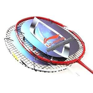 李宁 LI-NING 专业 全碳素 羽毛球拍 中端 A880 A990 情侣拍 拉好线 配手胶 拍套 (A880+A990(情侣对拍两只))