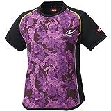 尼塔克(Nittaku) 乒乓球 女式 比赛用衬衫 迷彩图案 法兰绒衬衫 JTTA公认