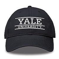 THE GAME 耶鲁斗牛犬成人 NCAA 球队颜色 Bar 标志可调节帽子–*蓝