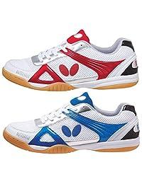 蝴蝶(Butterfly) 乒乓球 鞋 Rizo Line Triils 93600 红色(006)