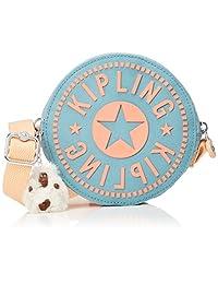Kipling 大开眼界 女式 斜挎包 K7141484W00F 薄荷绿猴脸印花 158 * 158 * 45mm