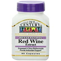 白藜芦醇红葡萄酒提取物 90片 Resveratrol Red Wine Extract 90 Capsules