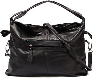 Floto Luggage Rimini Handbag, Black, Medium