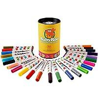 JoanMiro 美乐 儿童可水洗水彩笔24色 儿童绘画可水洗 宝宝水彩画笔 JM08312