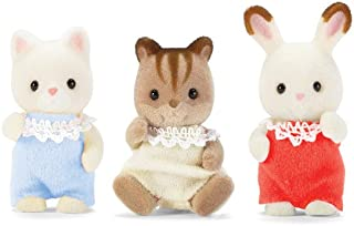 Calico Critters Baby Friends Triplets