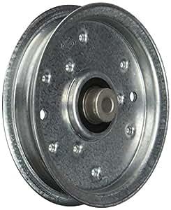MaxPower 12675 平放 Idler 滑轮替换件 MTD/Cub Cadet 753-08171、75308171、756-04129、75604129B、75604129C、956-04129 RT-12675