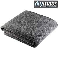 "Drymate 高级宠物毡盒内衬(121.92 厘米 x 149.86 厘米),可机洗毛毡垫 - 吸水/防水 - 防污垫 - 易于切割,适合任何进食箱(美国制造) 48"" x 59"""