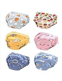 QZHIHE 婴幼儿棉质训练裤 如厕训练内衣 男女通用 12M-4T